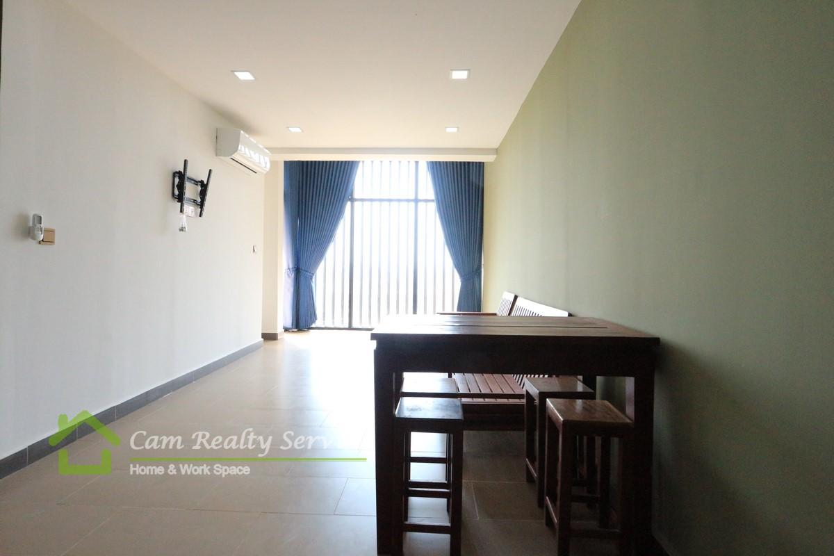 Aeon Mall 2 Area| Brand New Apartment 1 Bedroom Available For Rent|350$/month