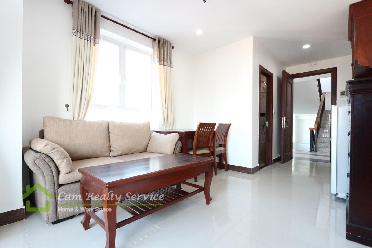 Beong Trabek Area Very nice 1 bedroom serviced apartment for rent 400$ up/month(swimming pool, gym, steam)