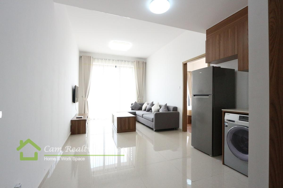 Vattanak Tower area| Modern style 1 bedroom apartment for rent 500$/month|pool & gym|