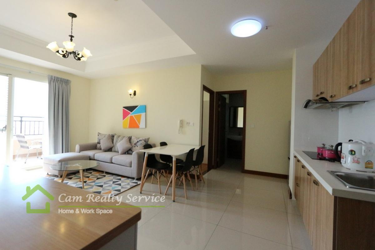 Chroy Chongva area| Modern style 1 bedroom apartment for rent| 550$/month| Pool & Gym