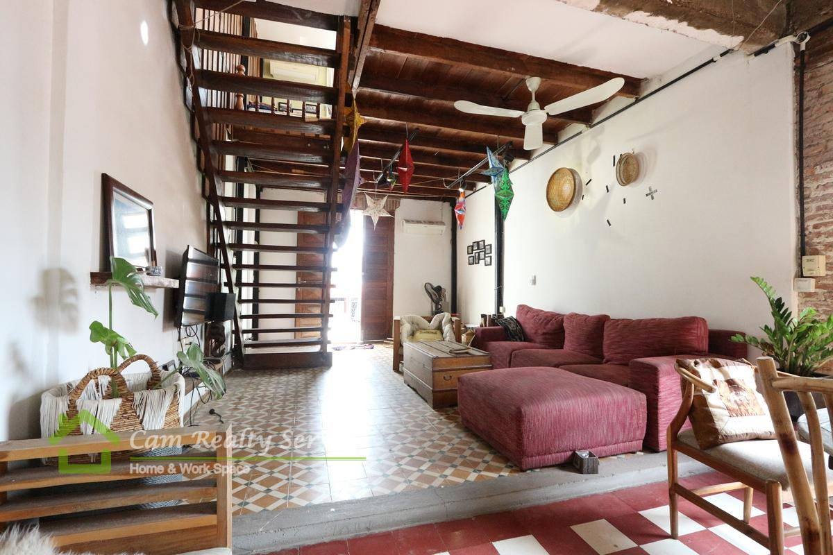 Riverside Area|French colonial style 1 bedroom renovated house for rent 550$/month|no parking|
