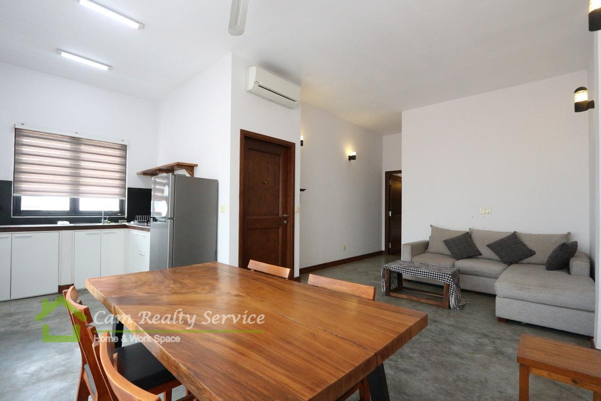 BKK3 Area (Toul Sleng )| Western style 1 bedroom apartment for rent 500$/month|motor parking|