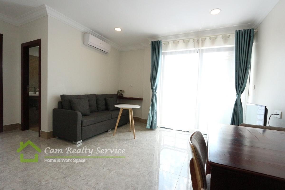 Royal Palace Area  Modern style 1 bedroom serviced apartment for rent 500$/month up Pool & gym 
