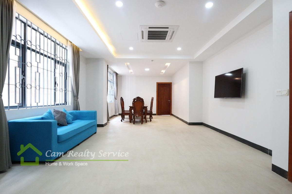 Aeon Mall Area| Very nice 3 bedrooms serviced apartment for rent 1500$/month| Rooftop Terrace & Gym