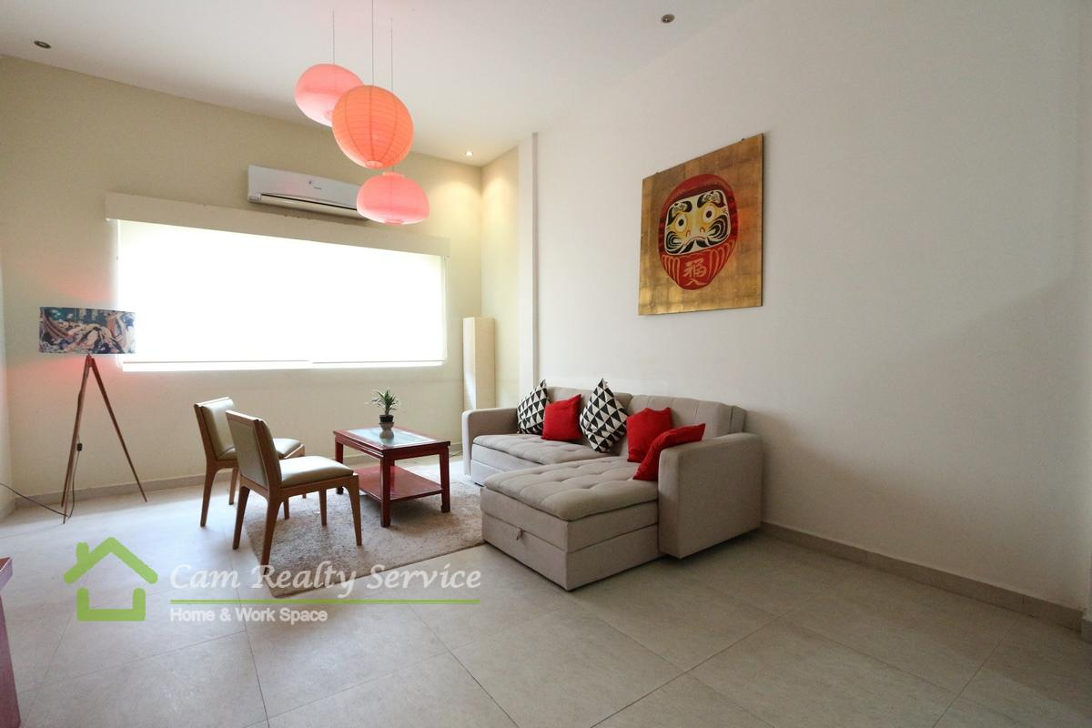Vattanacc Tower Area| Western style 1 bedroom apartment available for rent 500$/month