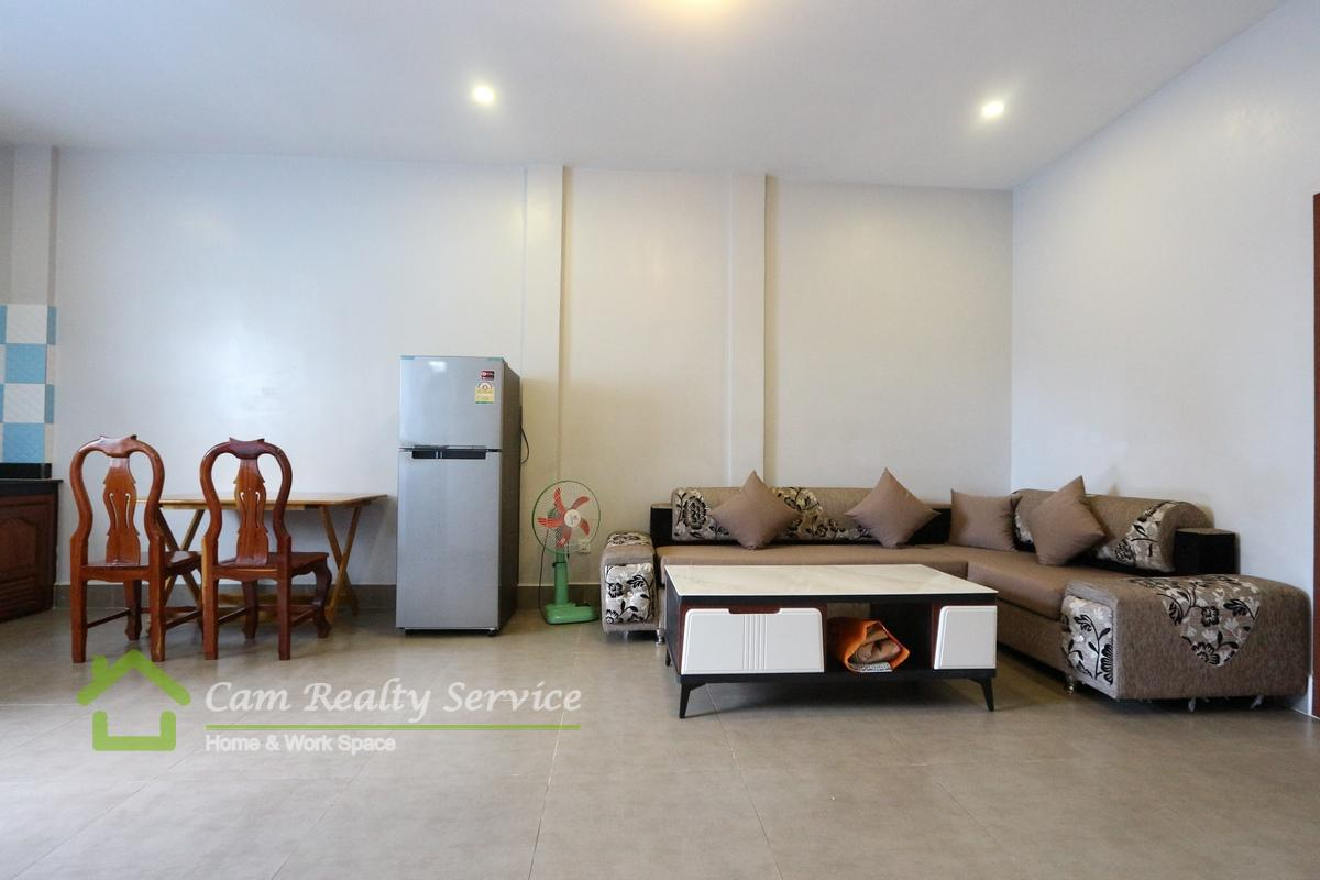 Central Market Area| Modern style 1 bedroom apartment available for rent 400$/month