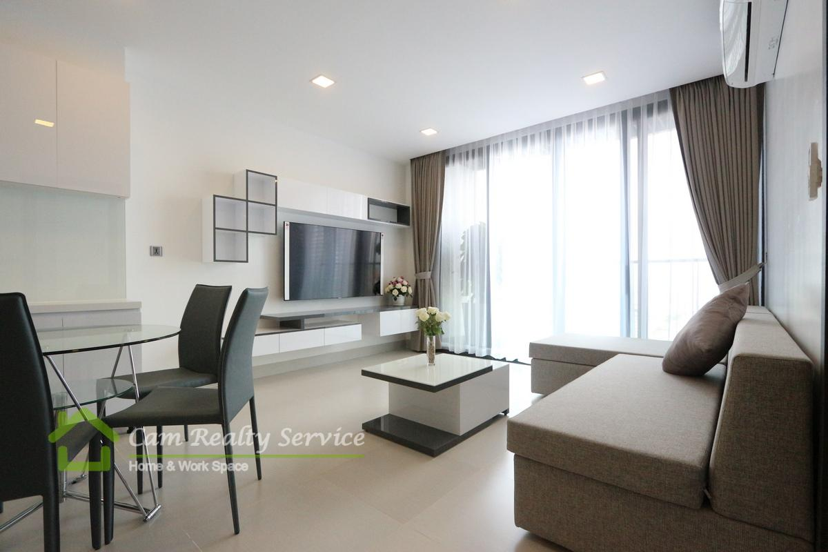 Southern Tonle Bassac area| Modern style 1 bedroom serviced apartment available for rent 900$/month up| Rooftop pool & gym|