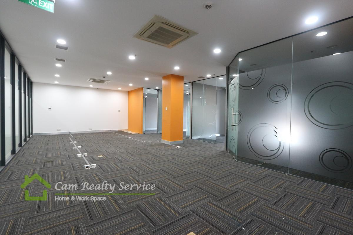 Toul Kork area  Office space in commercial building available for rent 16$/sqm