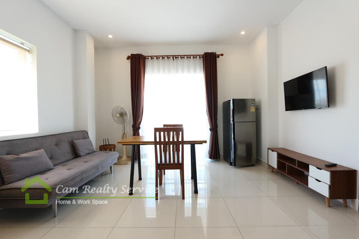 Near Chinese Embassy  Modern style 1 bedroom apartment available for rent 350$/month