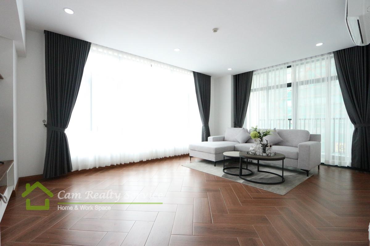 BKK1 area| Modern style 2 bedrooms serviced apartment available for rent 1400$/month up| Rooftop pool, gym, steam and sauna