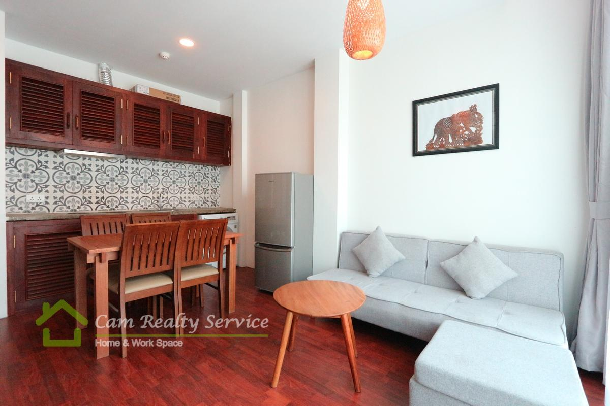 BKK3 area| Western style 2 bedrooms apartment available for rent 550$/month Up