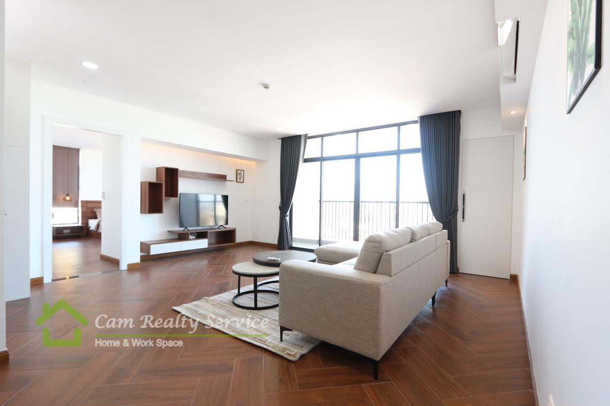 BKK1 area| Spacious 3 bedrooms serviced apartment available for rent 2500$/month| Rooftop pool, Gym, Steam & Sauna|