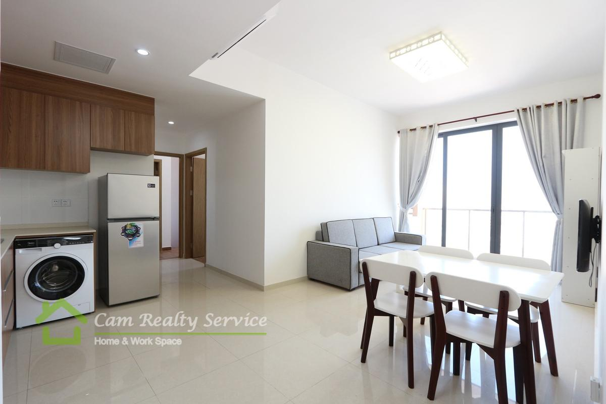 Vattanac Tower area  Modern style 2 bedrooms apartment for rent 700$/month  Pool & Gym