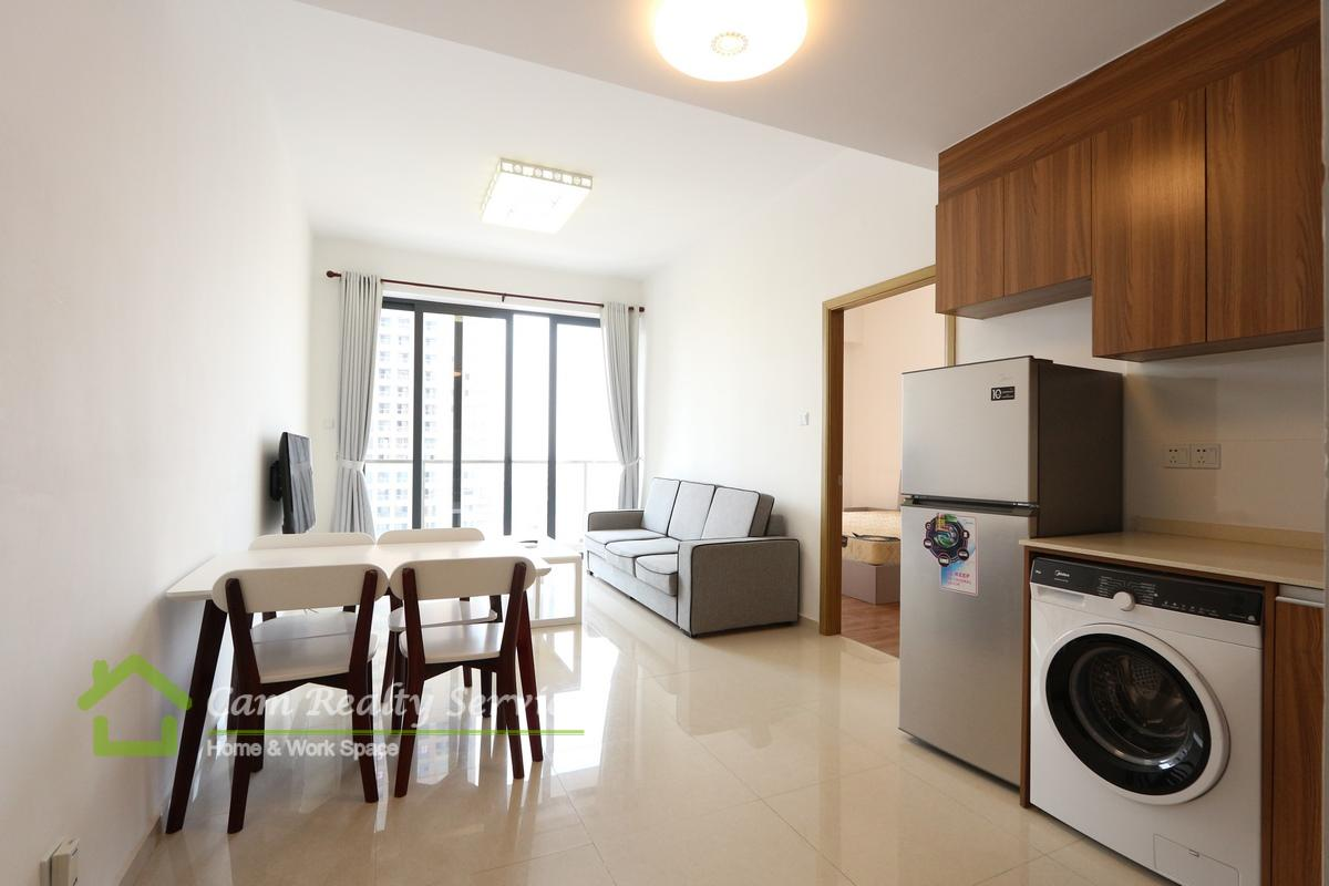 Vattanac Tower area| Modern style 1 bedroom apartment for rent 500$/month| Pool & Gym