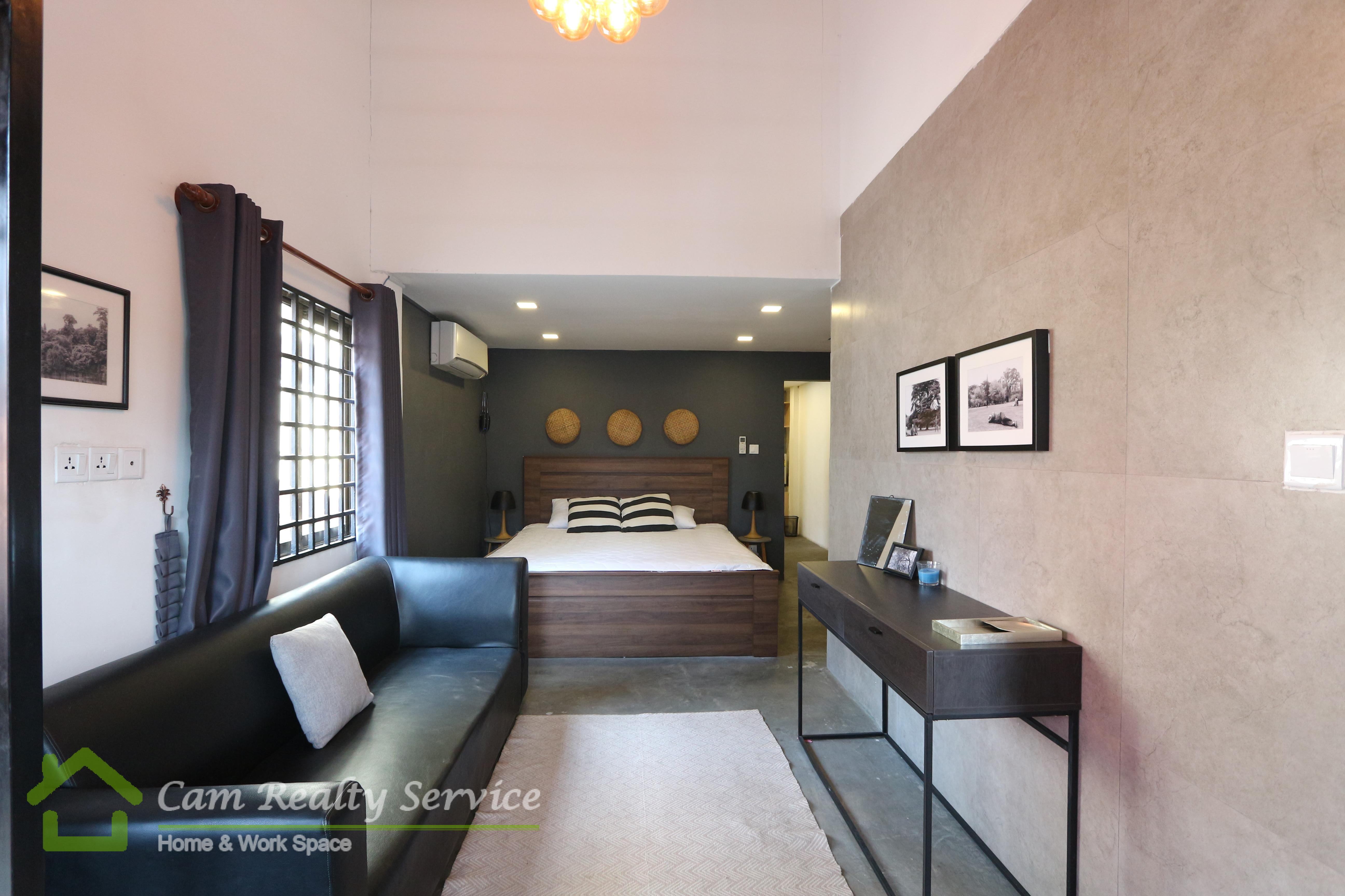 BKK3 area  Very nice studio renovated house for rent 400$/month