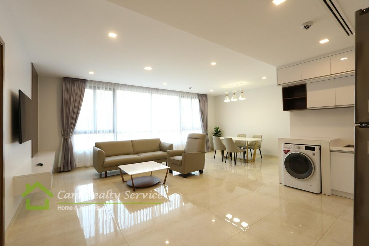 BKK1 area| Luxury 1 bedroom serviced apartment available for rent 800$/month| Beautiful Rooftop Swimming pool, Gym, Steam & Sauna