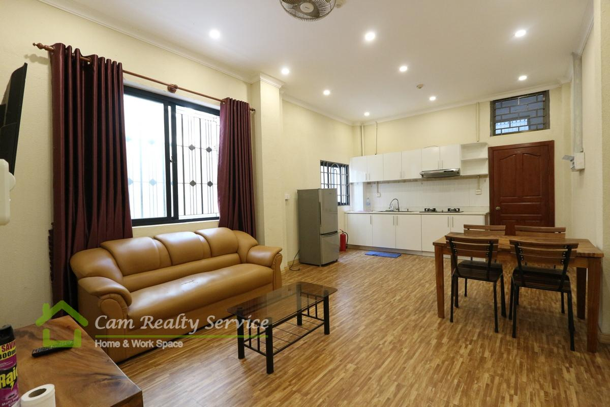 BKK3 area| Very nice 2 bedroom apartment available for rent 450$/month| Motor parking