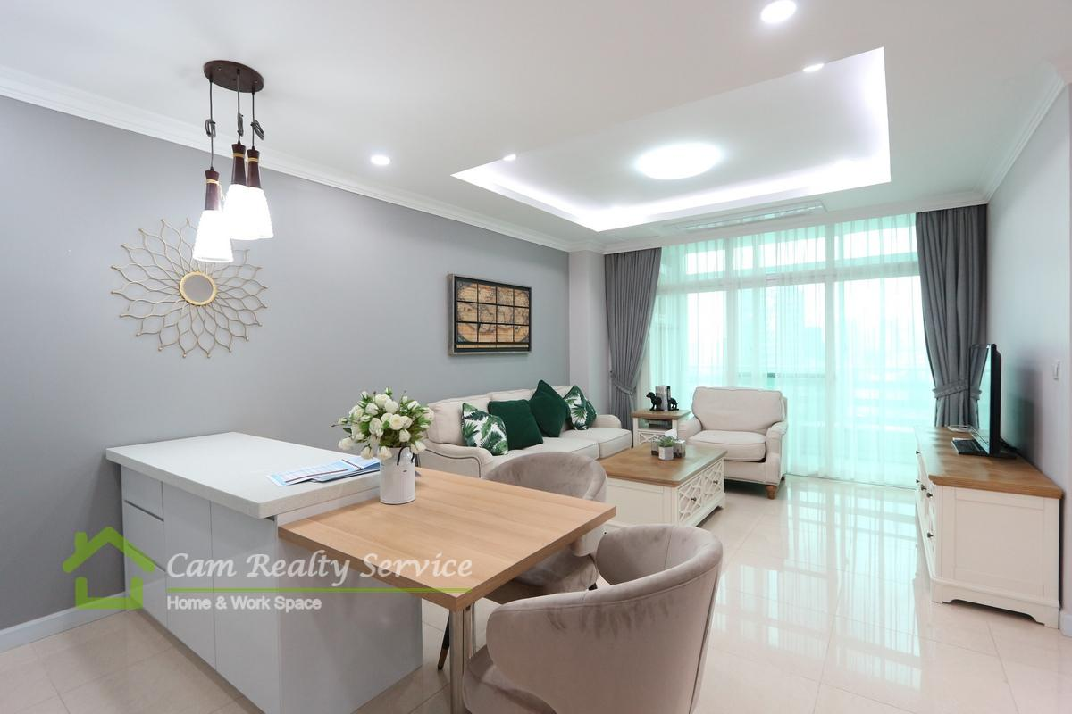 BKK1 area| Modern style 2 bedrooms apartment available for rent 1150$/month| Rooftop pool