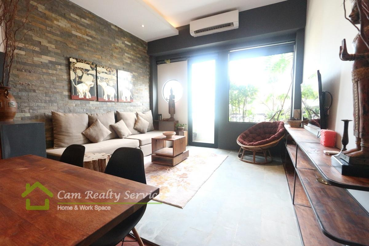 Southern of BKK1 area| Western style 1 bedroom serviced apartment available for rent 800$/month| Beautiful rooftop jacuzzi