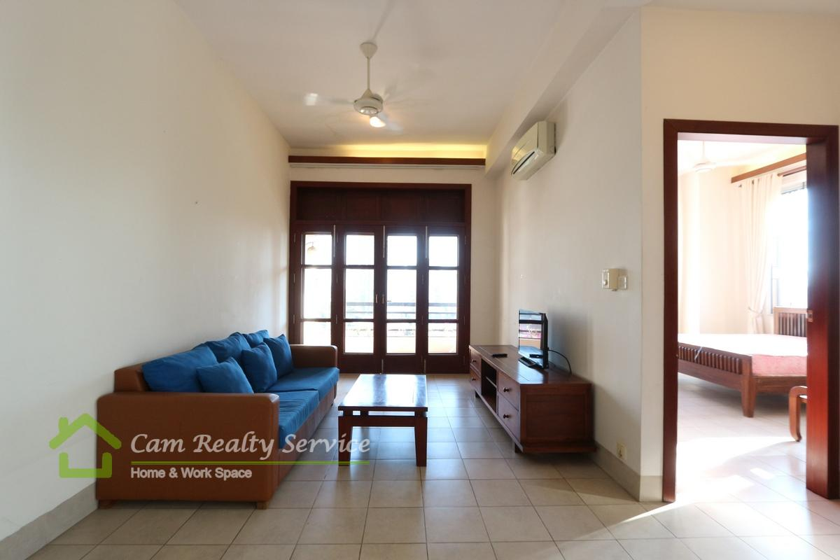 BKK1 area| Spacious 1 bedroom apartment available for rent 600$/month up| Gym