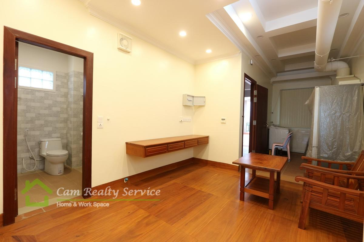 Beoung Tompoun area  Brand new 1 bedroom apartment available for rent 350$/month
