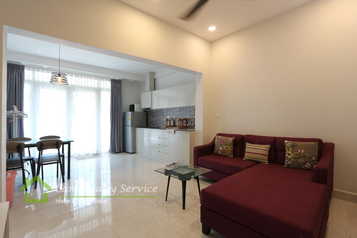 Daun Penh area| Very nice 1 bedroom renovated house available for rent 450$/month
