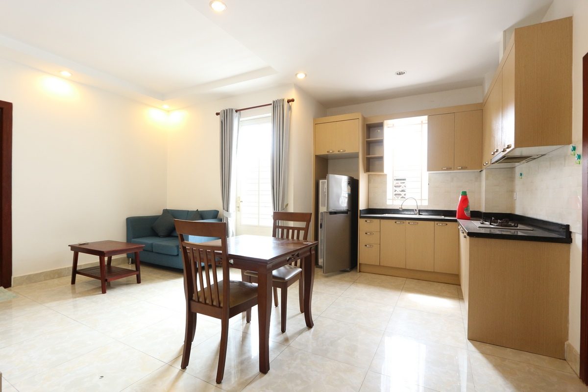 West part of Toul Sleng Museum| Modern style 1 bedroom serviced apartment available for rent 350$/month